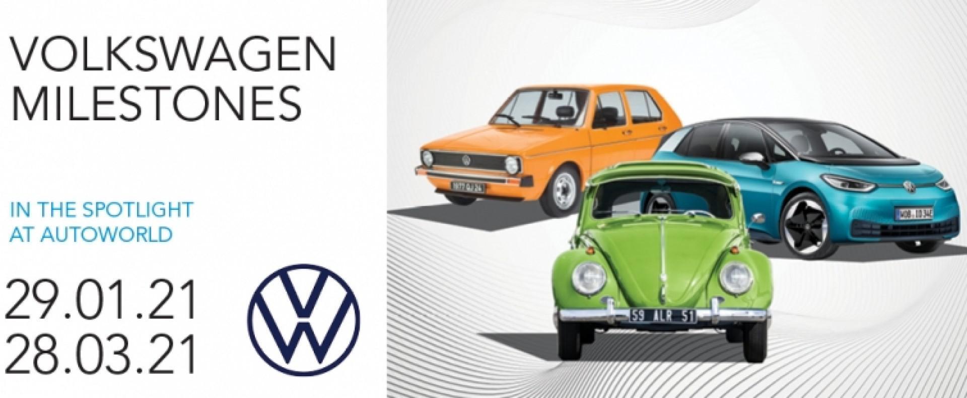 Autoworld Museum Brussels présente VOLKSWAGEN MILESTONES