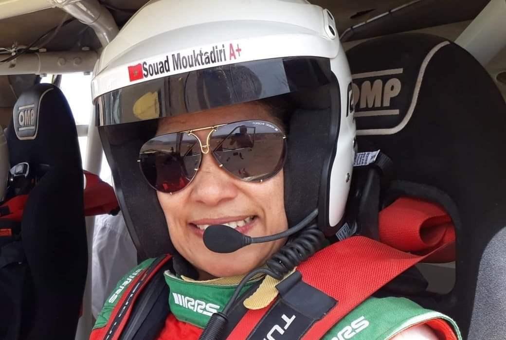Souad Mouktadiri en tête de liste de sa catégorie au rallye Andalousie 2021