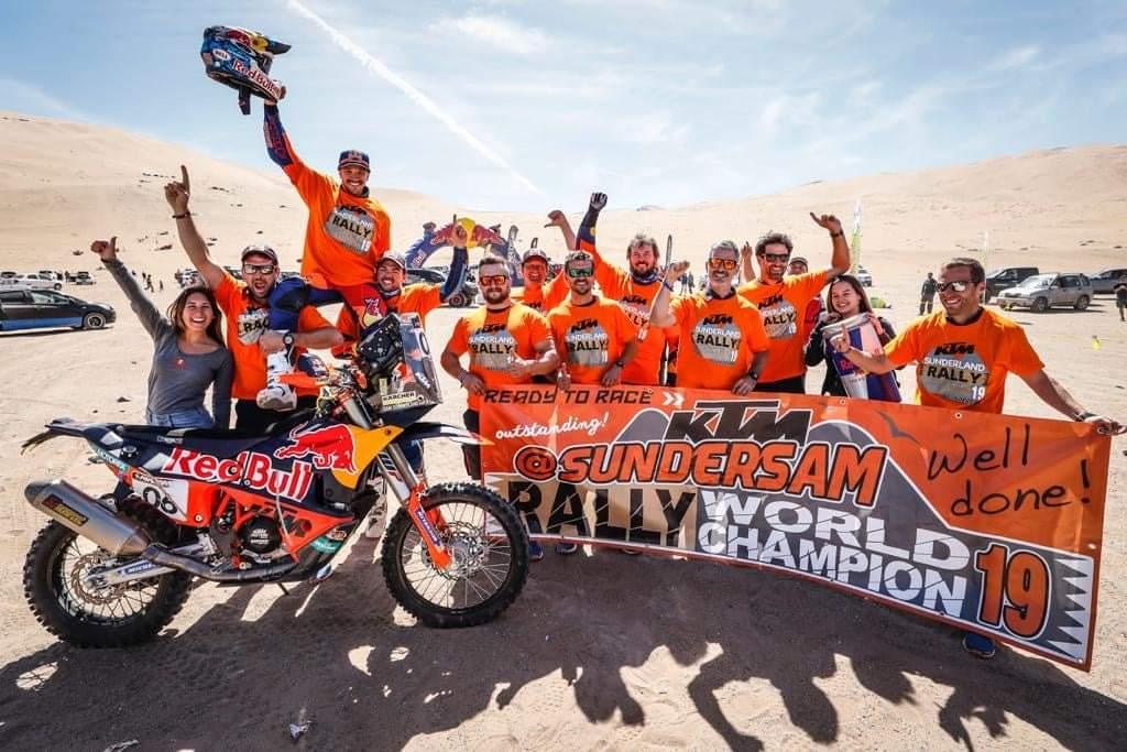Le Kazakhstan ouvre la saison du Championnat du Monde FIM des Rallyes Tout-Terrain 2021
