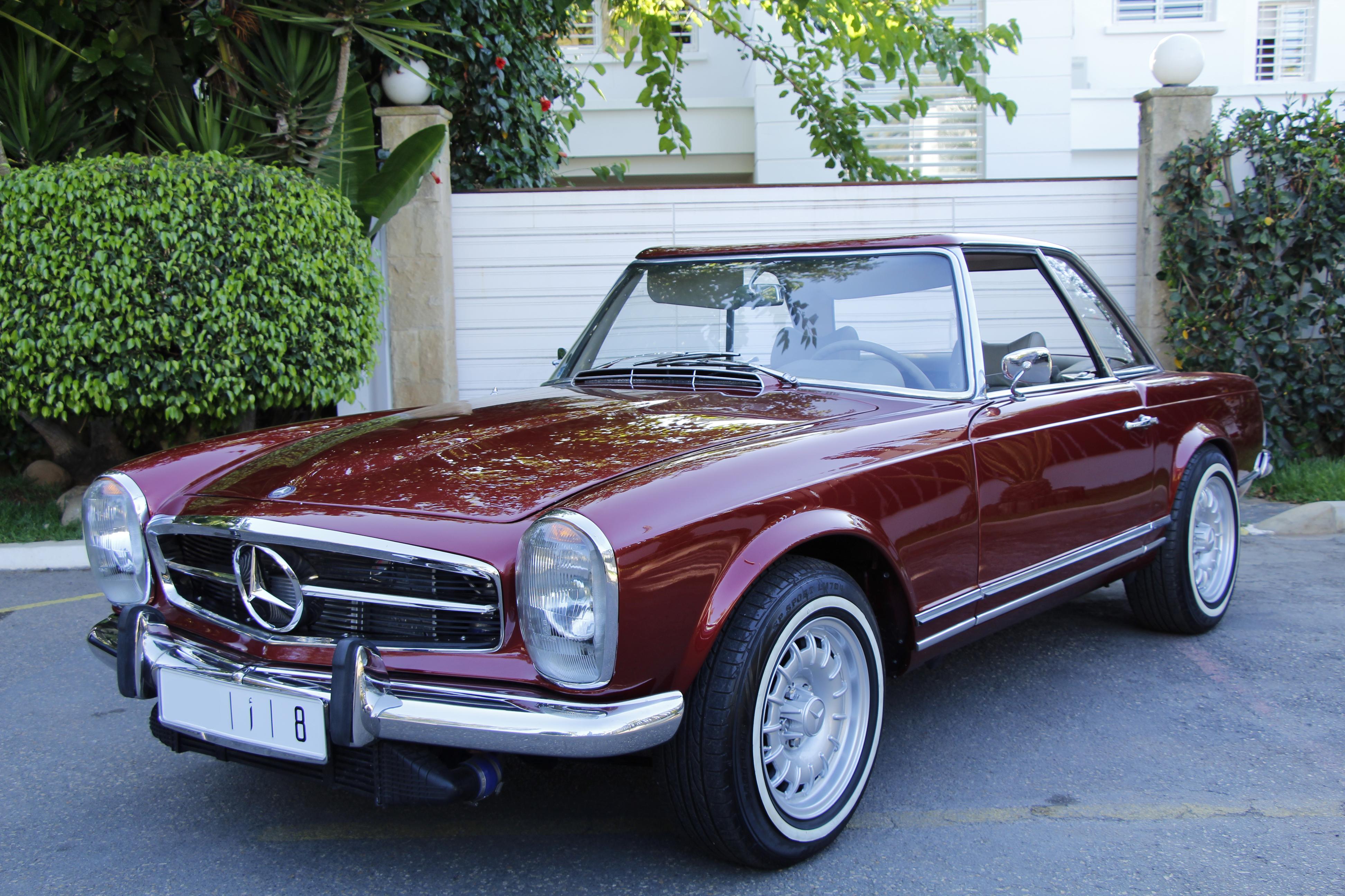 Une Mercedes Pagode Turbo, un rêve de gosse