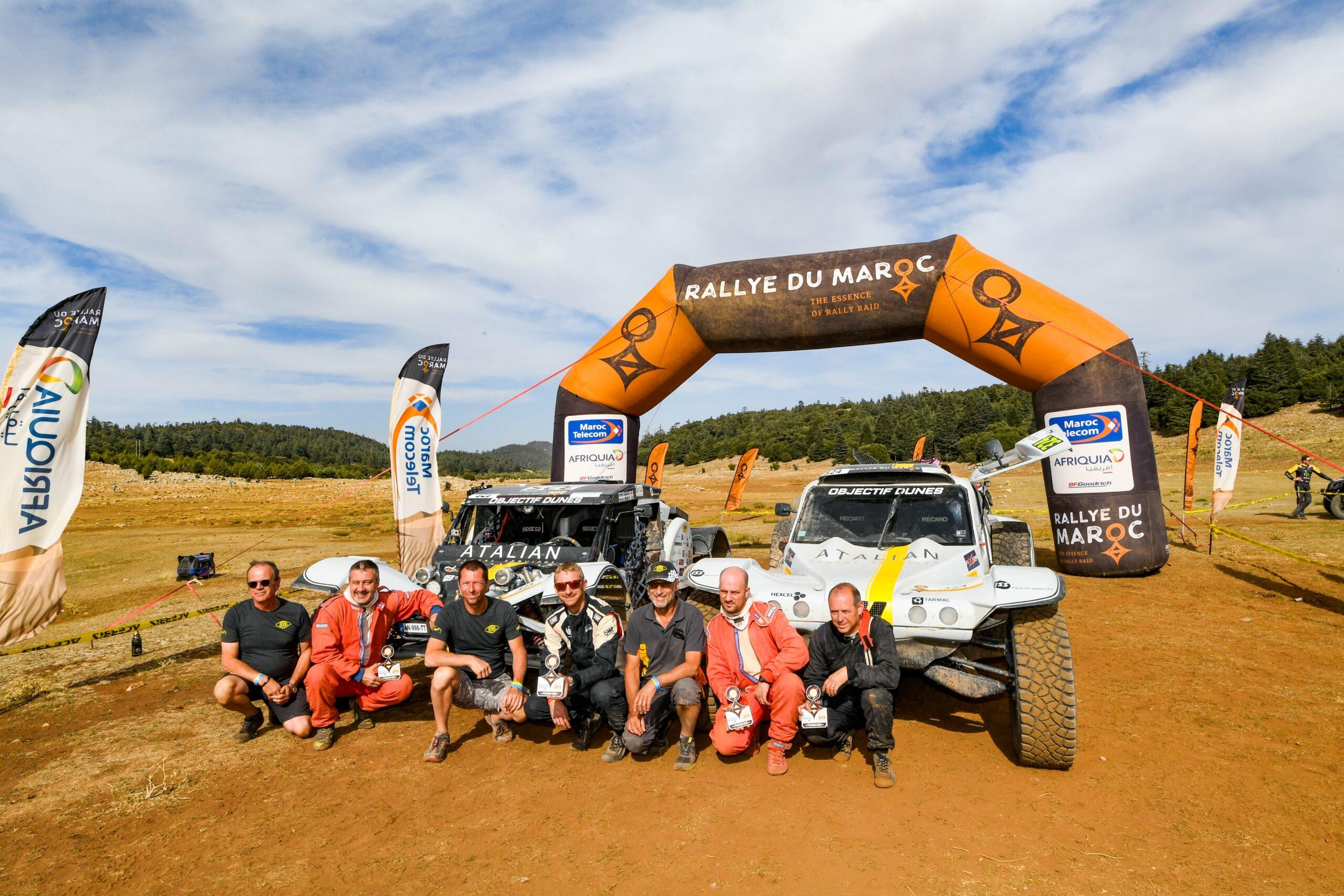 Rallye du Maroc 2021 : Objectif Dunes sur la ligne de départ
